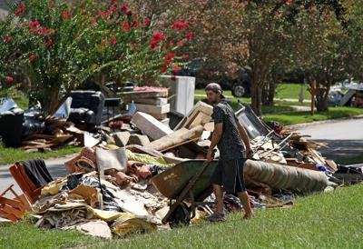 FILE - 2016 Louisiana floods