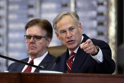 FILE - Texas Gov. Greg Abbott