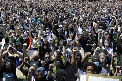 FILE - America Protests Chicago