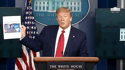 FILE - US Donald Trump 4-20-2020
