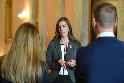 File-Ohio State Rep. Jena Powell