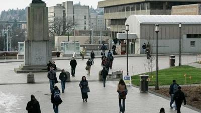 File — University of Washington Seattle campus