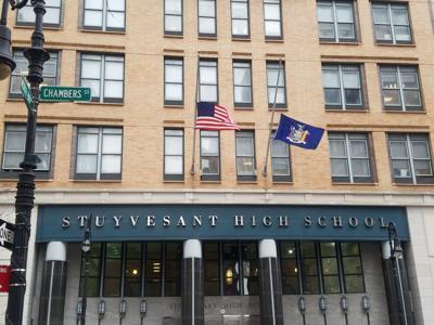Stuyvesant High School in New York City