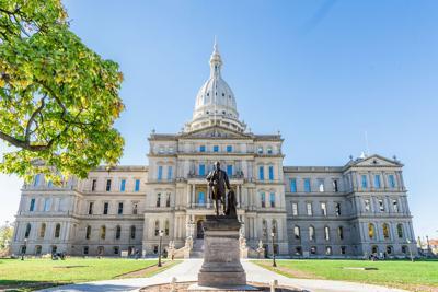 FILE - Michigan State Capitol