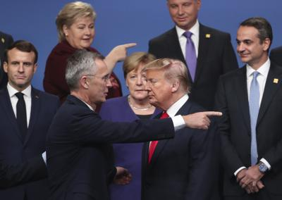 APTOPIX Britain NATO