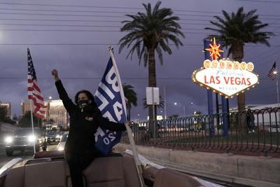 FILE - Election 2020 Las Vegas