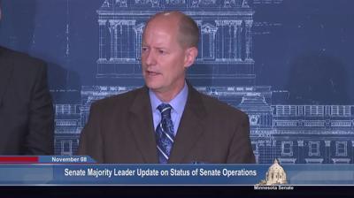 File -- Minnesota Senate Majority Leader Paul Gazelka