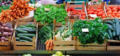 FILE - Farmers' markets