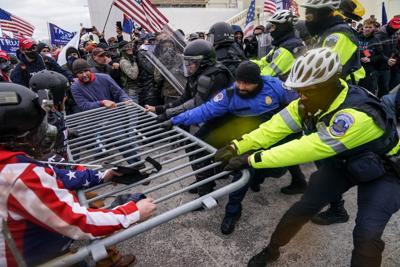 FILE —U.S. Capitol Trump riot