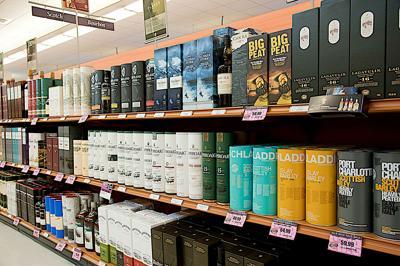 FILE - NH Liquor store