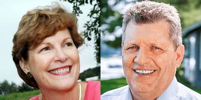 FILE - NH Jeanne Shaheen, Corky Messner
