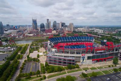 FILE - Nissan Stadium aerial
