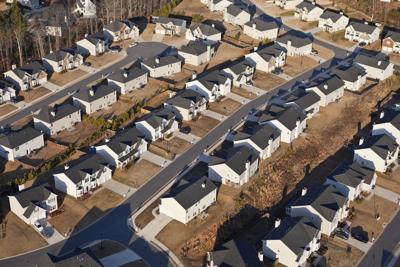 FILE - Housing neighborhood