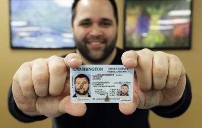 FILE —Washington driver's license