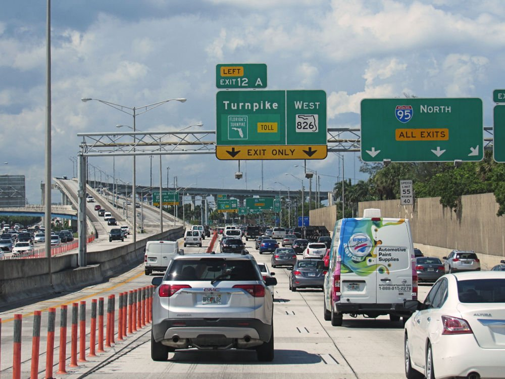 Mile Floridas Turnpike North — VACA