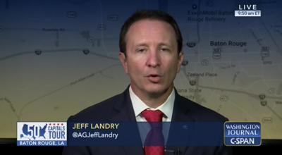 FILE - Louisiana Attorney General Jeff Landry