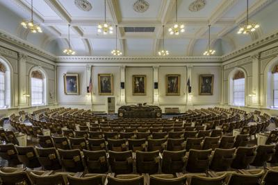 FILE - New Hampshire State Capitol (House of Representatives)