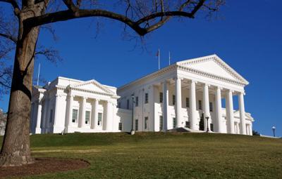 FILE - Virginia State Capitol