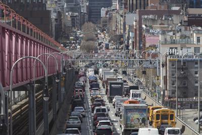 FILE - Manhattan Tolls