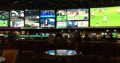 FILE - Las Vegas sportsbook, sports betting, gambling