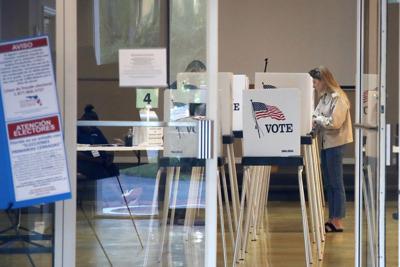 FILE - Florida voting
