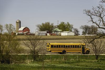 FILE - School bus