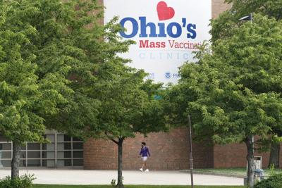 File-Ohio mass vaccination clinic