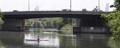 FILE - Chicago River, river, Illinois