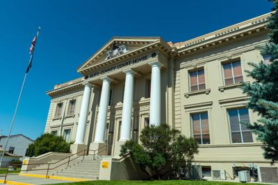 FILE - Elko County Courthouse
