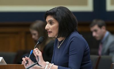 FILE - Centers for Medicare and Medicaid Services Administrator Seema Verma