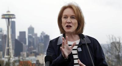 FILE - Seattle Mayor Jenny Durkan