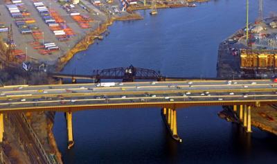 FILE - NJ Point-No-Point Bridge 3-30-2019