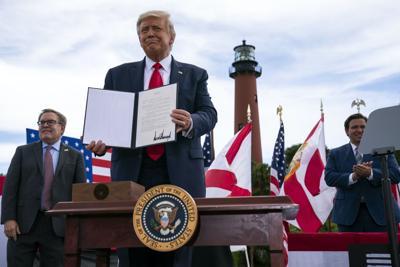 Trump oil drilling ban