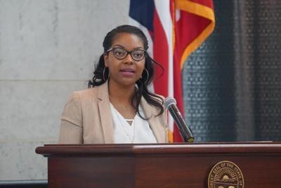 File-Ohio Minority Leader Emilia Strong Sykes