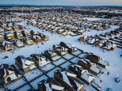 Winter storm Uri Texas