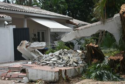 FILE - Hurricane Irma damage
