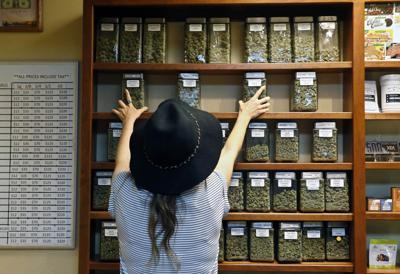 FILE - Colorado Marijuana Dispensary