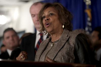 FILE - New Jersey Sen. Sandra Cunningham