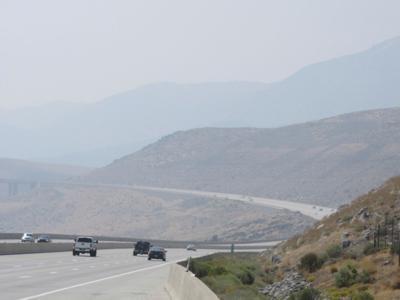 FILE - NV wildfire smoke 09-12-2020