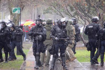 FILE —Oregon unlawful assembly