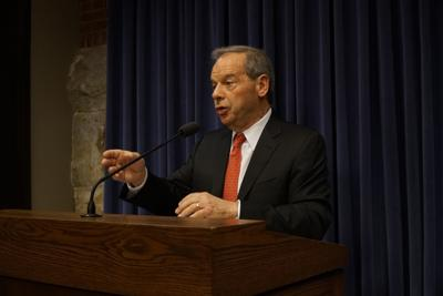 FILE - Senate President John Cullerton 7-26-17
