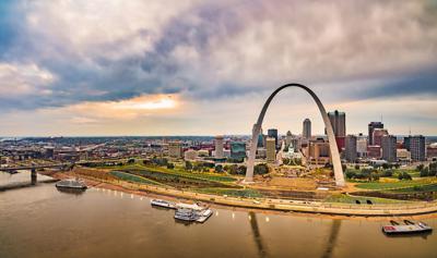 FILE - St. Louis Gateway Arch
