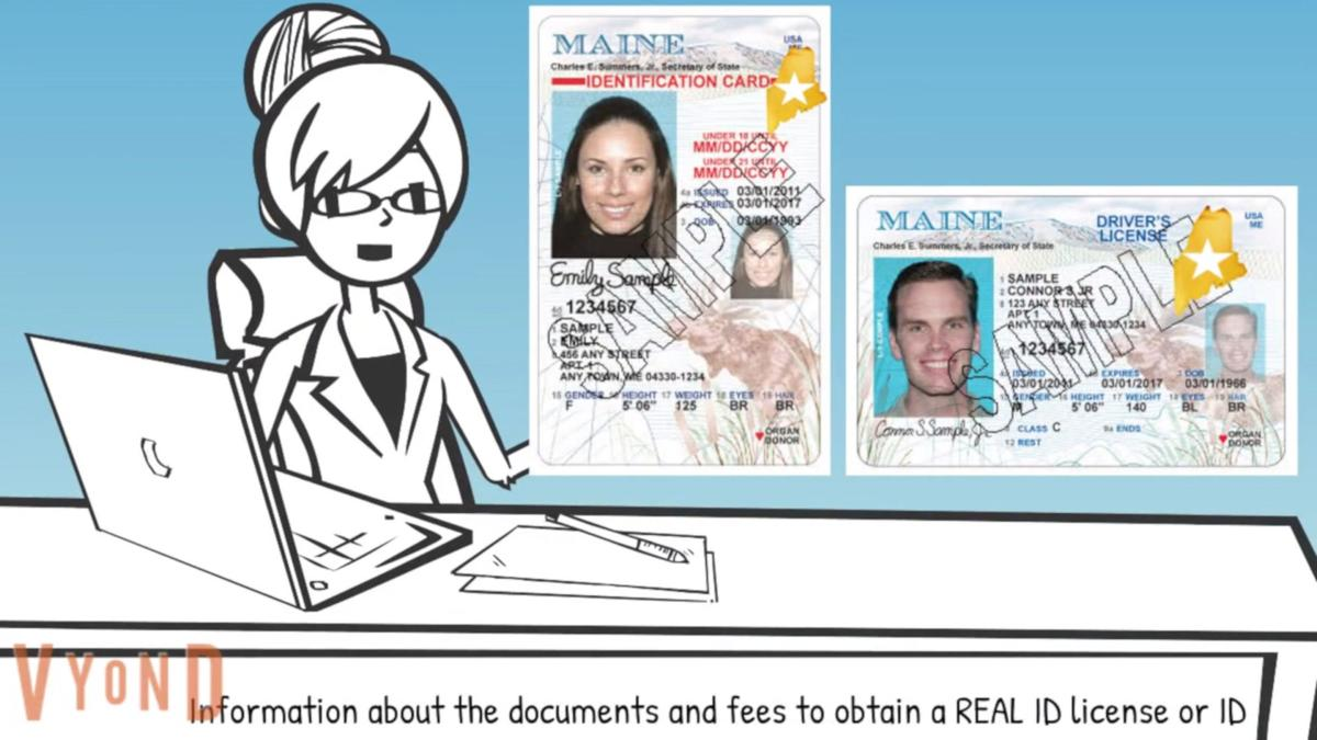 FILE - ME Real ID