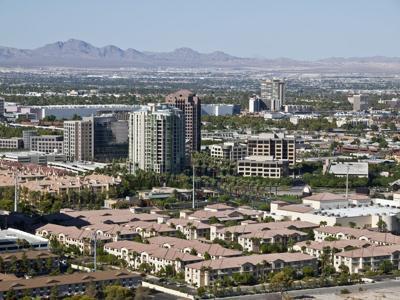 FILE - Suburban Las Vegas