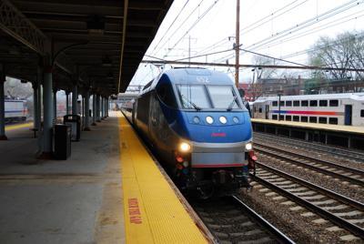FILE - NJ Amtrak, Trenton 4-3-2011