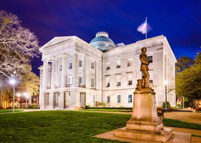FILE - North Carolina State Capitol