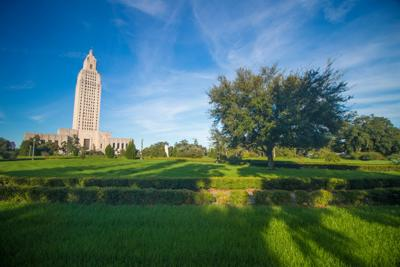 FILE - Louisiana State Capitol