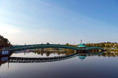 FILE - ME Madawaska-Edmundston International Bridge