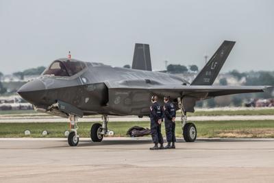 Offutt,Afb,,Ne,/,Usa,-,August,2018:,F35,Fighter