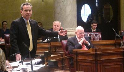 FILE - Wisconsin State Sen. Jon Erpenbach
